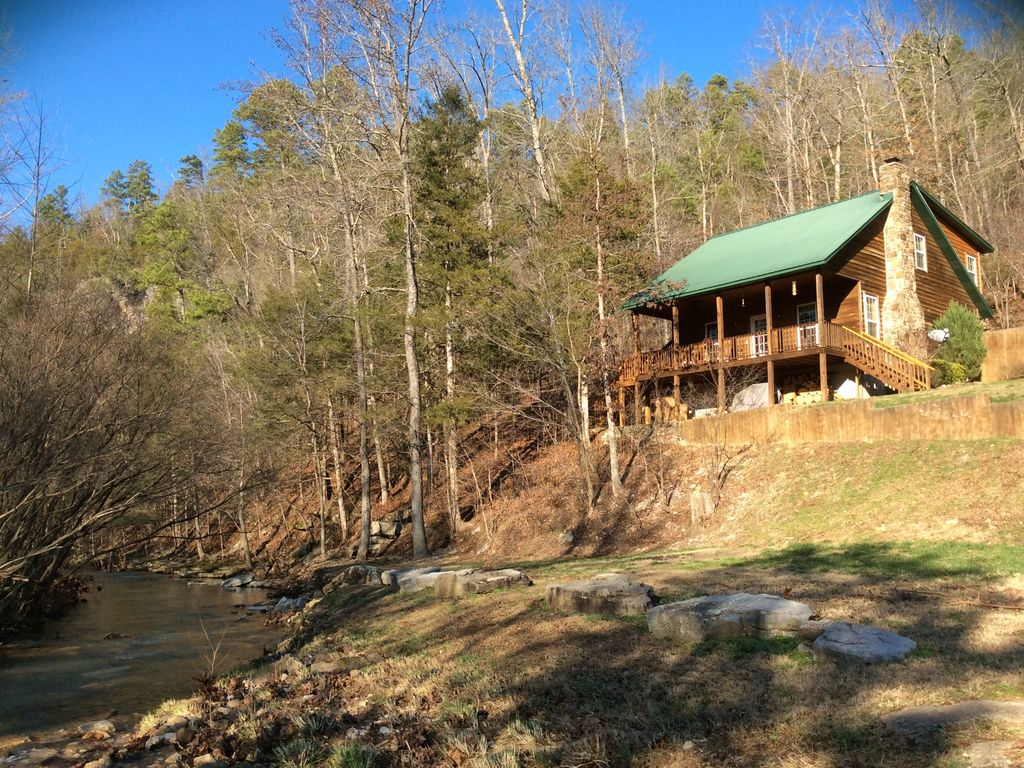 Secluded Cabin Rental on the Buffalo River Arkansas