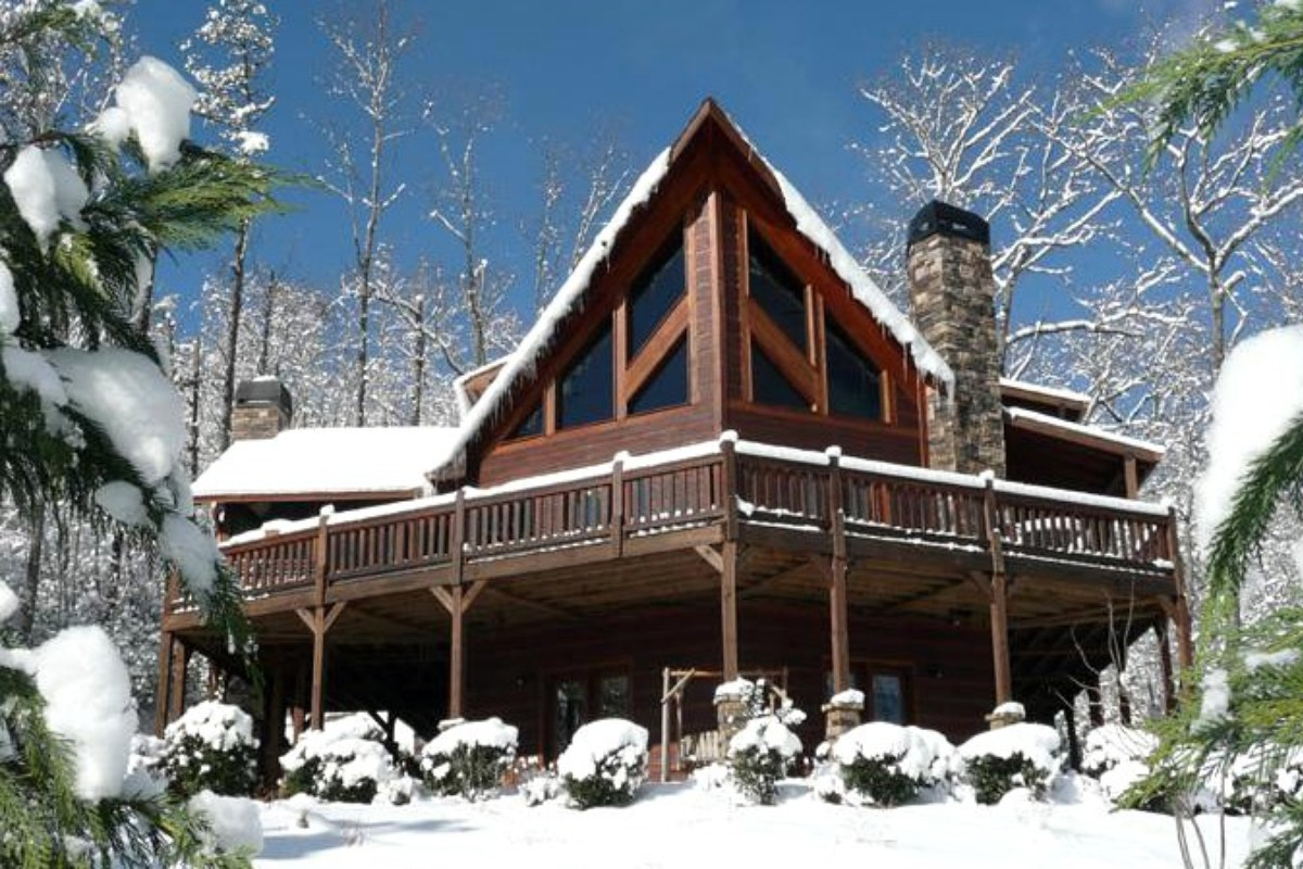 Blue ridge mountain georgia luxury cabin rentals