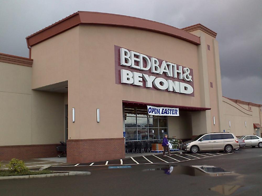 Entrance to a Bed Bath  Beyo  Bed Bath  Beyond