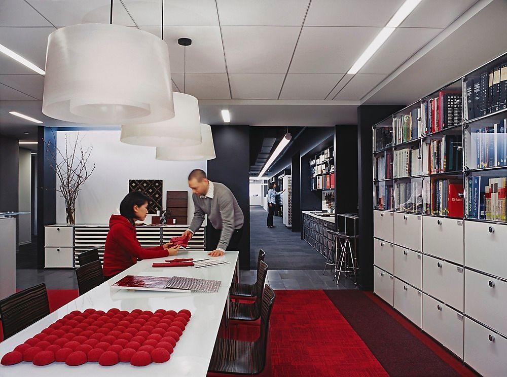 Gensler New York Library Gensler Office Photo