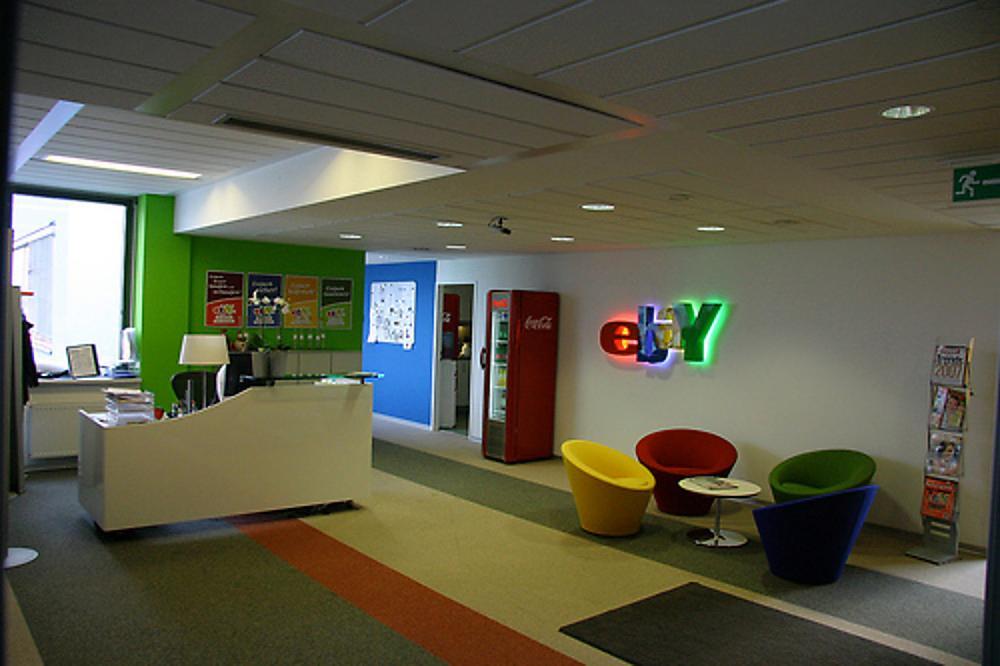 Ebay office lobby (Photo than...