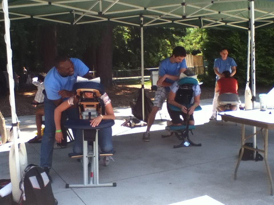 chair massage seattle xl folding with side table event dreamclinic office photo glassdoor wa