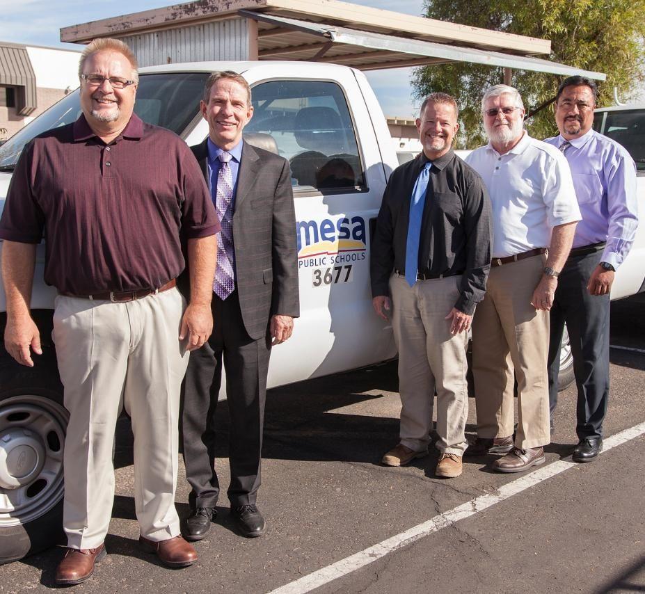 Our Operations leadership tea  Mesa Public Schools