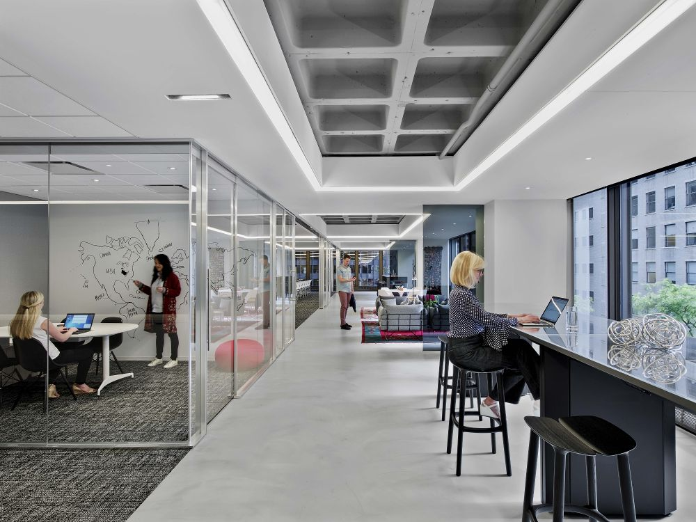 IIDA HQ Breakout Areas International Interior Design
