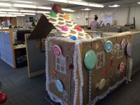 Cubicle or gingerbread house?... - IPC Office Photo ...