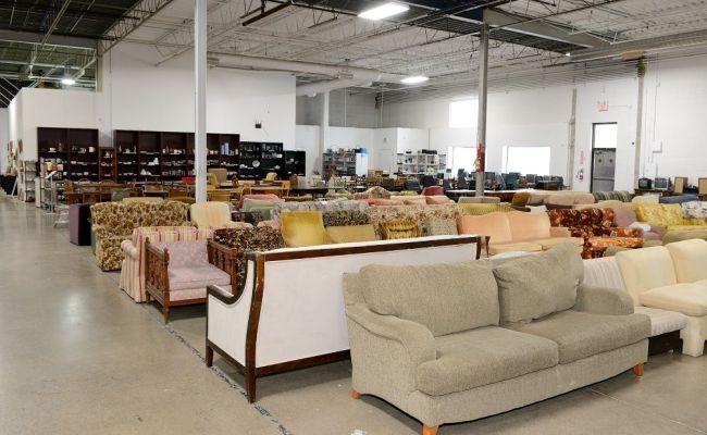 Showroom Floor Wide View Furniture Bank Office Photo