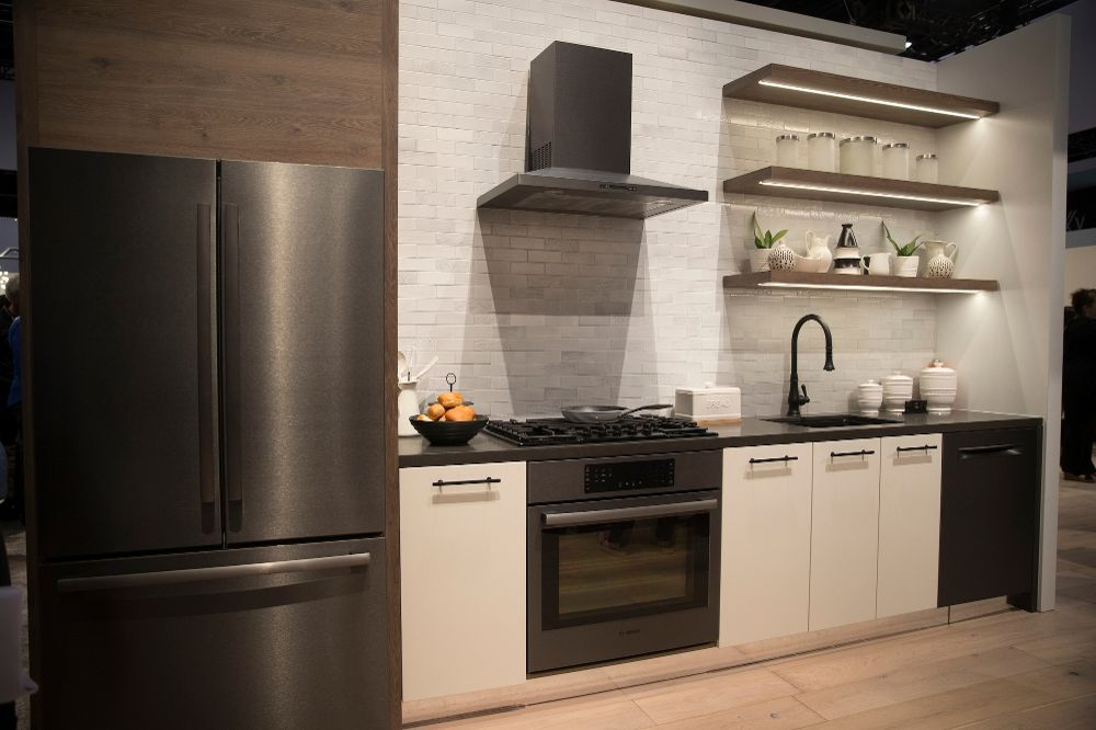 bosch kitchen appliances white cabinets a beautiful bsh home usa office photo irvine ca us