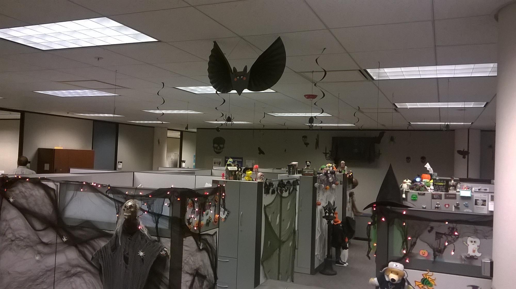 Halloween Office Decorations