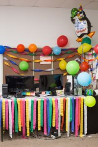 Office Door: Office Door Birthday Decorations