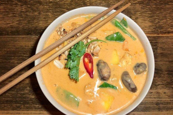 Vegetarian curry recipe.