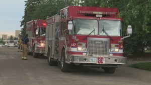 Man rescued after getting trapped in Edmonton trench collapse