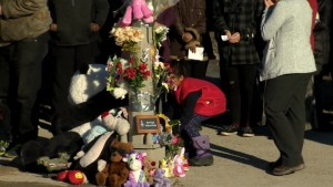 Vigil for 4-year-old girl hit and killed by car