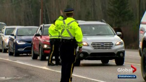 Police to be out in force on Alberta highways for long weekend
