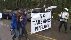 Battle over Kinder Morgan Trans Mountain pipeline heats up