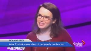 Trebek calls contestant a 'loser'