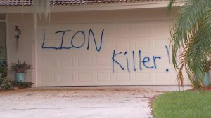 Florida home of dentist who killed Cecil the lion vandalized