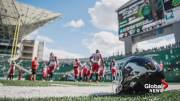 Play video: Stamps players weigh in on NFL protests, idea of similar display during anthem