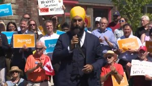'The Liberals haven't done what people need': NDP leader Jagmeet Singh