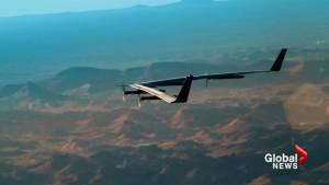 Facebook plane bringing internet to remote communities takes 1st test flight