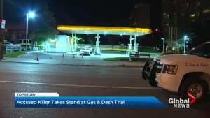 Man accused of 2nd-degree murder of gas station attendant takes stand