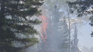 Two significant fires blazing in B.C.
