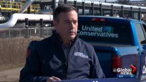 Kenney outlines how he would kickstart Alberta's energy sector