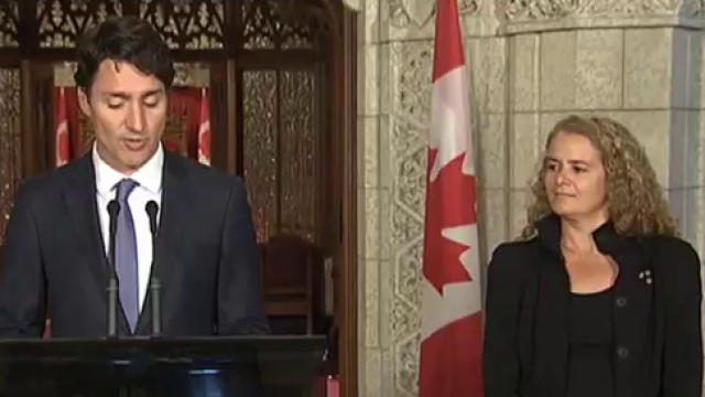 Click to play video 'Astronaut Julie Payette to be Canada's next governor general'