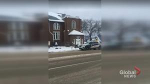 Saskatoon police investigating video showing officer punching suspect