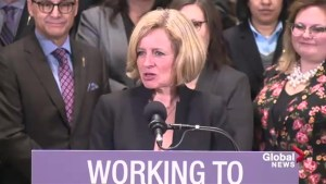 Alberta's Notley speaks about 'frank discussion' on Trans Mountain pipeline
