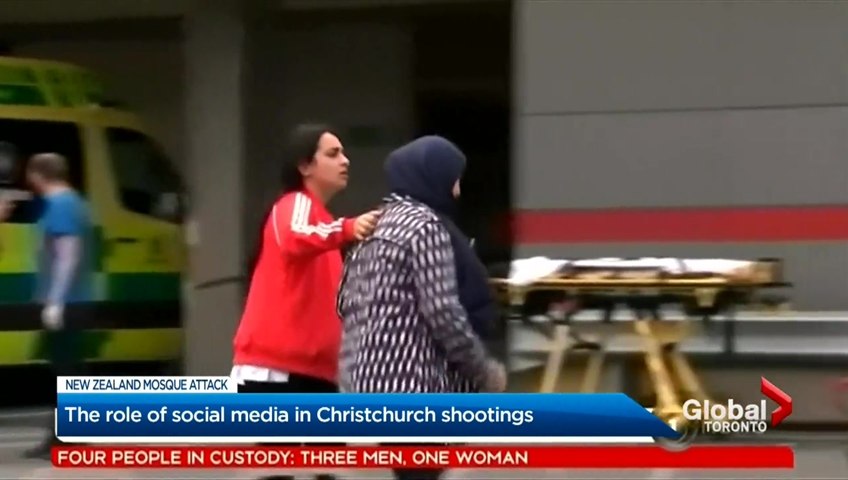 Social media and personal responsibility in the spread of the Christchurch video