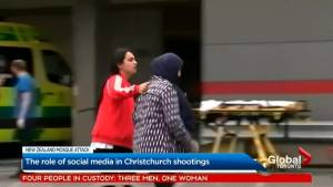 Role of social media in Christchurch shootings (02:10)
