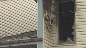 Edmonton apartment fire displaces nearly a dozen