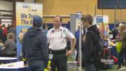 Play video: High school students get a taste of the working world at career fair