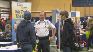High school students get a taste of the working world at career fair