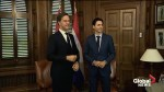 Justin Trudeau welcomes Dutch PM Mark Rutte to Ottawa