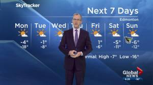 Edmonton Weather Forecast: Jan. 14 (02:24)