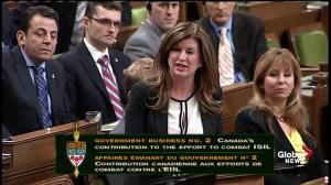 Rona Ambrose: There is no peace to keep in Iraq and Syria