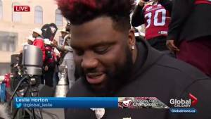 Calgary Stampeders O-lineman comes from surgery to celebration