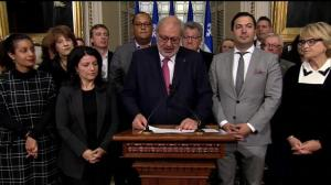 Pierre Arcand calls out the CAQ