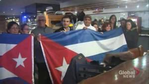 Toronto's Cuban community mourns death of former leader Fidel Castro