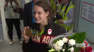 Rio 2016: Olympic athletes return home to family and fans