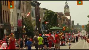 Extreme heat warning can't stop Canada Day celebrations in Peterborough