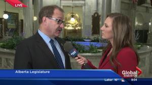 Alberta PC leader Ric McIver on Alberta Budget 2016