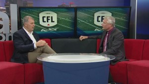 New CFL commissioner Randy Ambrosie back in Edmonton