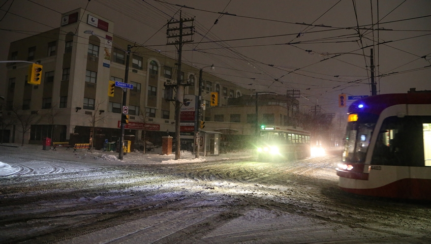 Power restored in east end, TTC subway service resumes