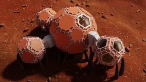 NASA picks top three designs for homes on Mars