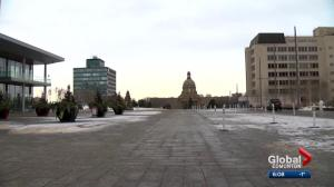 What is Edmonton's best public plaza for big events?