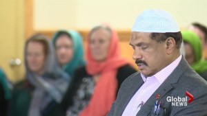 Supporters gather at Lethbridge mosque in show of solidarity