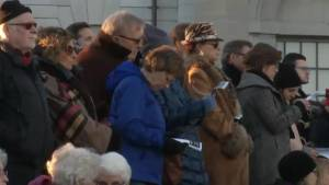 People in Kingston gather to honour victims of Pittsburgh shooting