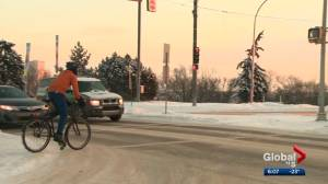 How busy is Edmonton's contentious bike grid?